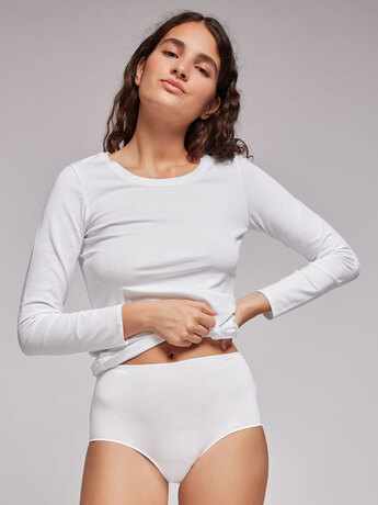 ВИСОКА БИКИНА 1/0225 blanco GISELA organic EKO cotton